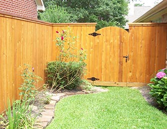 Western Red Cedar Fencing in Spring, TX