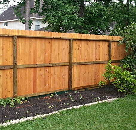 Repaired Fencing in Spring, TX